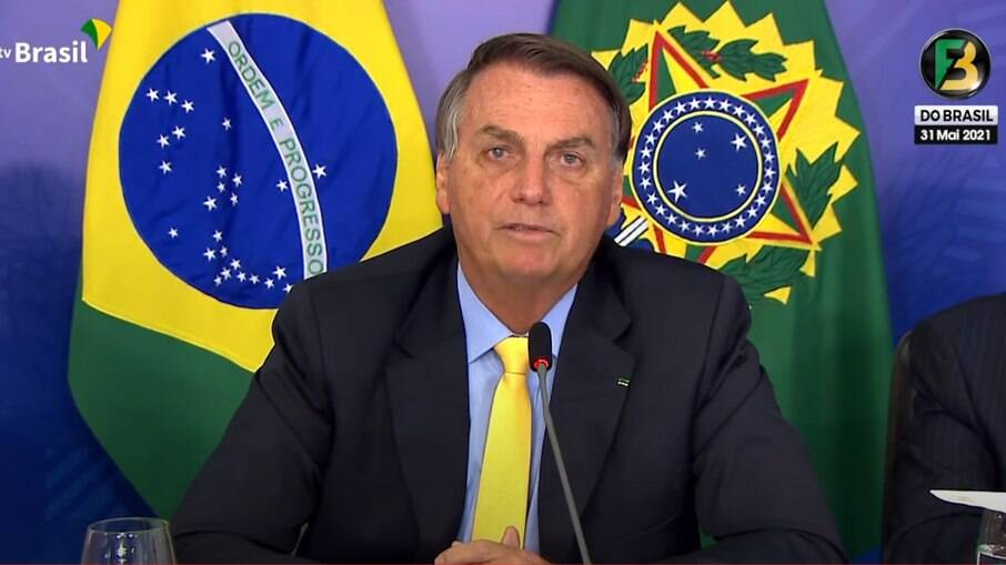 Bolsonaro no Fórum de Investimento Brasil