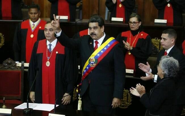 Nicolás Maduro tomou posse em 10 de janeiro para segundo mandato na Venezuela; novo governo vai até 2025