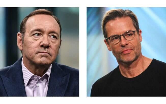 Kevin Spacey e Guy Pearce protagonizam polêmica de assédio