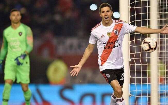 River Plate venceu o Cerro Porteño no jogo de ida das quartas