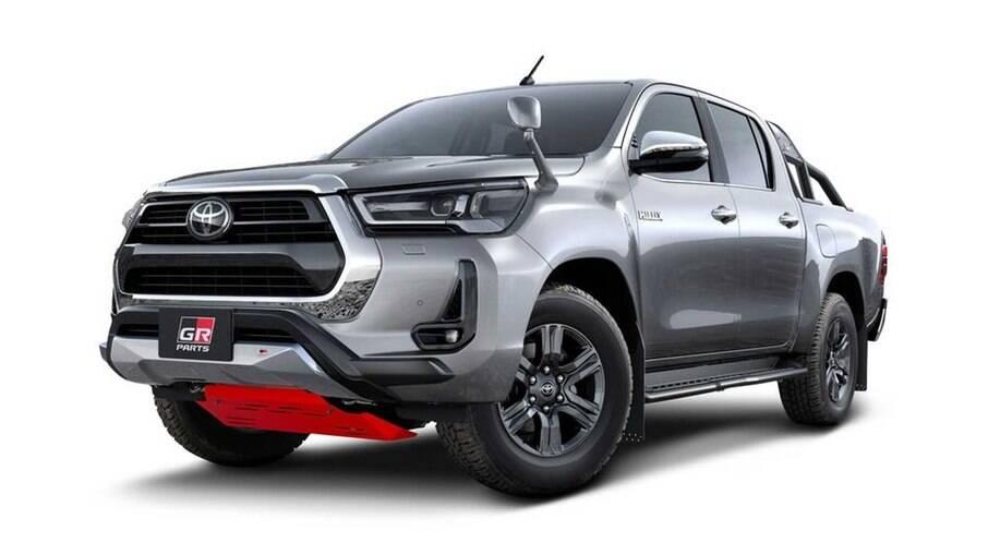 Nova Toyota Hilux GR-S: versão com apelo esportivo está prestes  a chegar ao mercado japonês antes de chegar ao Brasil