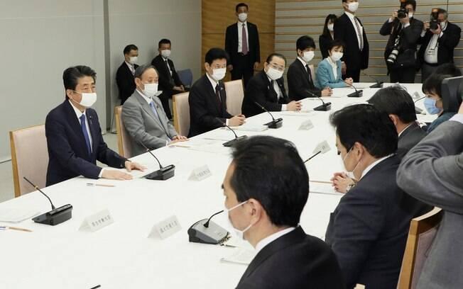 Presidente do Japão, Shinzo Abe