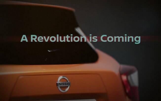 Outro teaser divulgado pela Nissan mostra parte da traseira do novo March