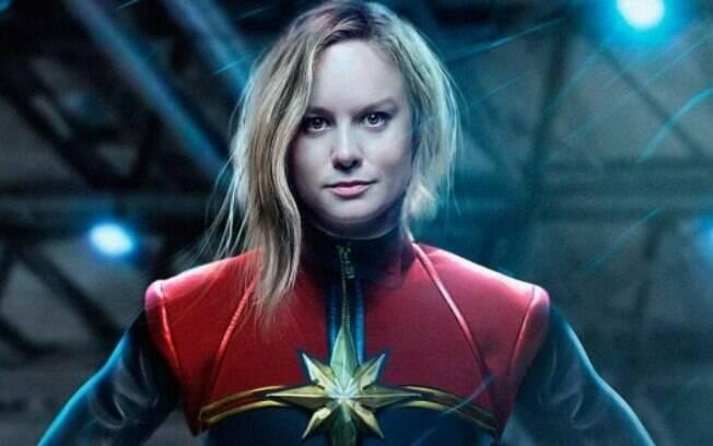 Brie Larson dá vida a Capitã Marvel
