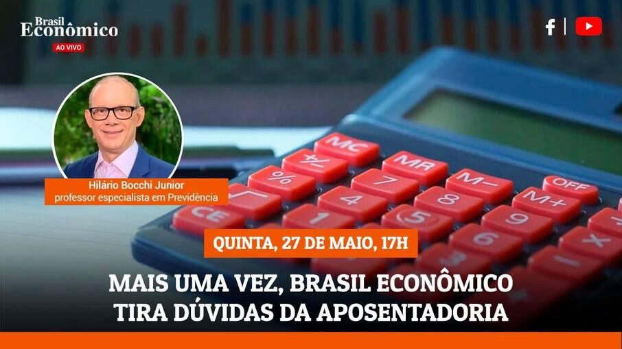 Brasil Econômico tira dúvidas da aposentadoria - com Hilário Bocchi Junior, professor especialista em Previdência