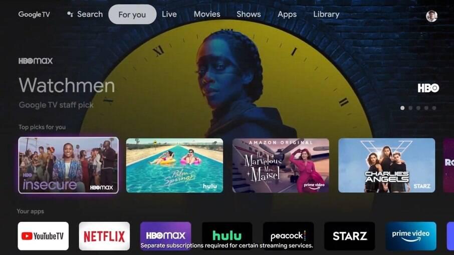 Google TV ganha nova versão com o Chromecast lançado em 2021
