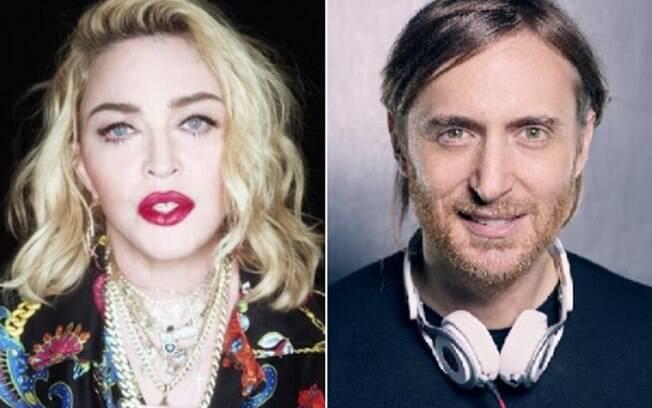 Madonna e David Guetta