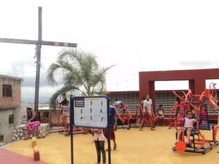 Academia a Céu Aberto nº 300, na vila Nossa Senhora de Fátima, foi inaugurada no último dia 6