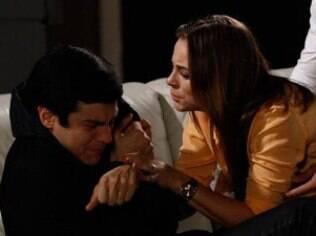 Félix conta verdade para Paloma sobre Aline e médica ataca irmão