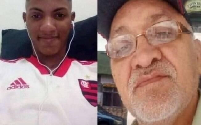 Pedro Sousa e Lucas Rodrigues foram baleados durante operações da PM na Maré