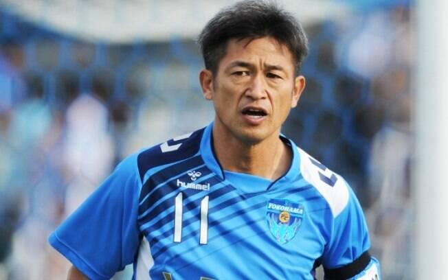 Kazu renovou por mais uma temporada com o Yokohama FC