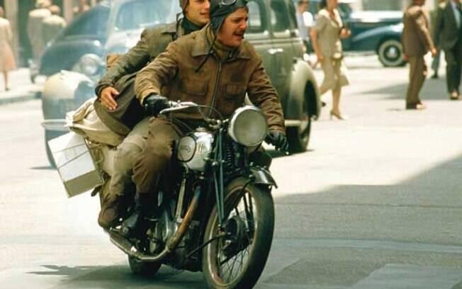 """Che Guevara, seu amigo e a Norton 500 de 1939 em """"Diários de Motocicleta"""""""