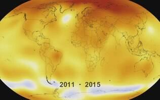 Fevereiro foi mês mais quente da história, revelaNasa