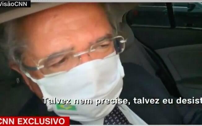 Paulo Guedes disse que talvez desista da criação do novo imposto, nos moldes da CPMF