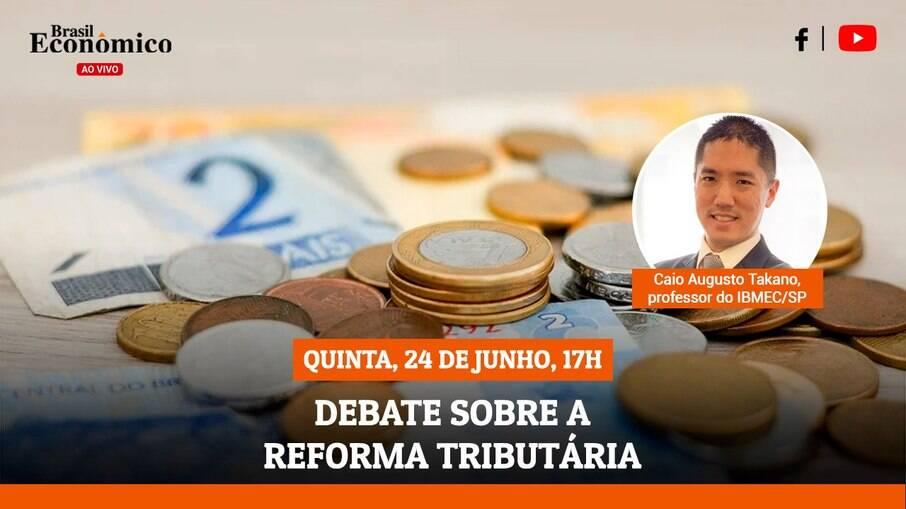 Caio Augusto Takano, professor do IBMEC/SP, participa de live do Brasil Econômico nesta quinta-feira