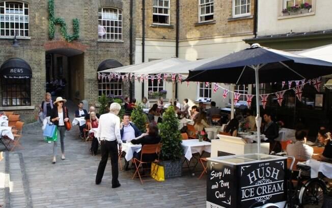 Mayfair: Londres sofisticada e clássica