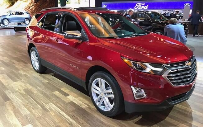 GM Equinox foi apresentado no Salão de Detroit, em janeiro, e chega ao Brasil no segundo semestre no lugar do Captiva