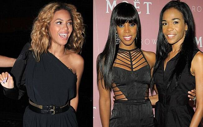 Beyoncé, Kelly Rowland e Michelle Williams