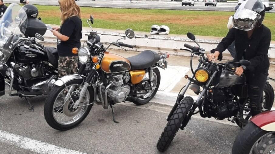 Só falta os escapamento original de quatro saídas nessa bela Honda CB 500 Four