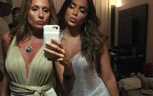 Anitta e Luisa Mell são amigas