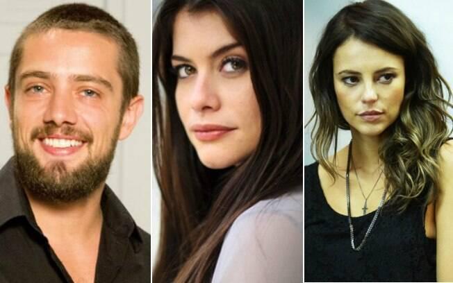 Rafael Cardoso, Alinne Moraes e Paolla Oliveira estão na próxima novela das 18h da Globo