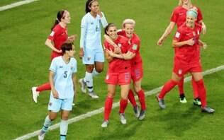 EUA faz 13 a 0 e aplica maior goleada da história do Mundial Feminino
