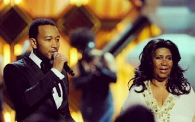 John Legend e Aretha Franklin
