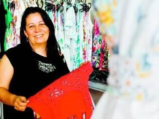 Sueli Campos, administradora da Feiraminas, comemora sucesso