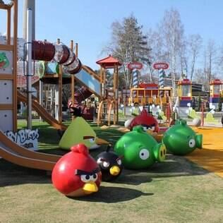 Fica na Finlândia a maior estrutura autorizada dos Angry Birds