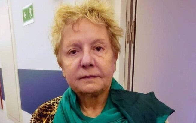 Eunice Caldas, de 78 anos, aguarda ajuda do Itamaraty para retornar ao Brasil