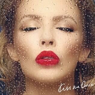 Capa de 'Kiss Me Once', o novo single de Kylie
