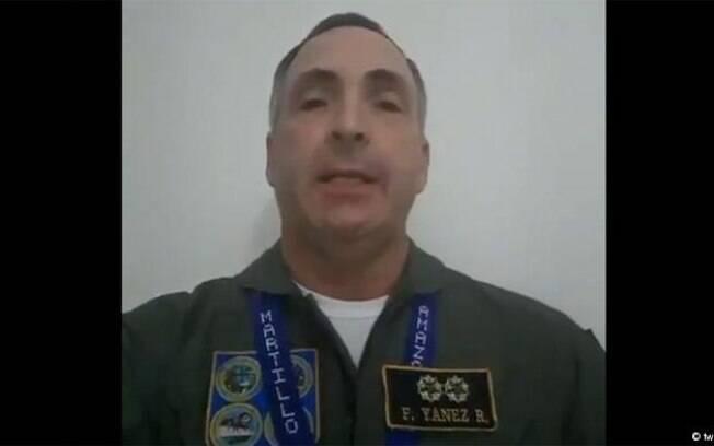 Francisco Yánez divulgou um vídeo no qual declara apoio a Juan Guaidó como presidente da Venezuela