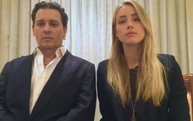 Divórcio de Johnny Depp e Amber Heard tem alto valor de indenização até pedido de restrição para ver o cachorro