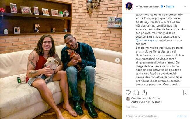 Whindersson Nunes e Marlon Wayans