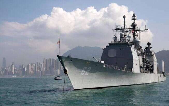 Navios dos EUA e da Rússia quase se chocaram