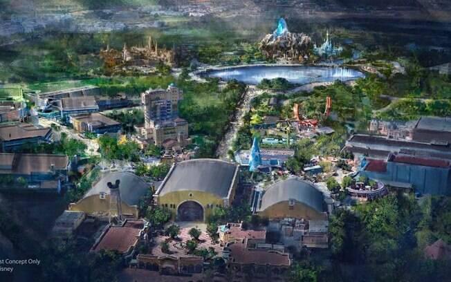 Um dos planos é colocar um terceiro parque para fazer companhia aos outros dois já existentes na Euro Disney