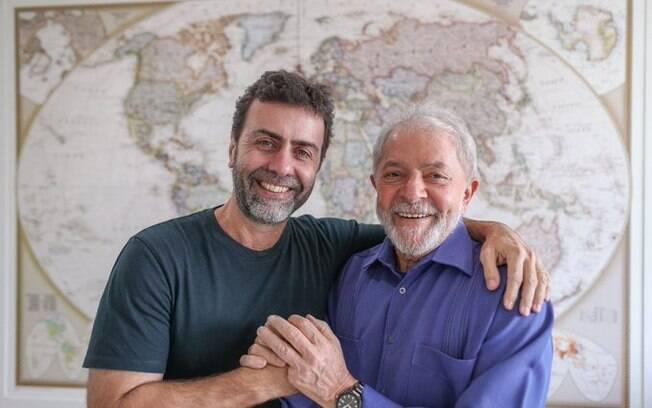 Ex-presidente se encontrou com Freixo em São Paulo