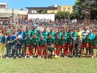 Camarões.  Equipe estreia na Copa Itatiaia contra o São Caetano, em Betim