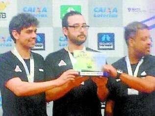 Tênis de Mesa. Equipe ficou com a prata no Campeonato Brasileiro