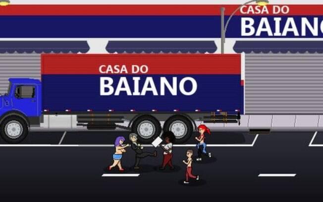 O game Bolsomito 2K18 também ataca nordestinos e celebra mortes de