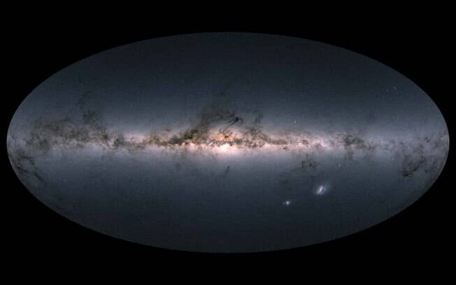 Galáxia starburst  COSMOS-AzTEC-1 é maior do que a Via Láctea e está a 12,4 bilhões de anos-luz do planeta Terra