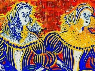 Histórico. A escrava Chica da Silva é o personagem central da exposição de artista Elisa Grossi