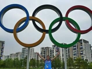 Poglajen defendeu a seleção argentina nos Jogos Olímpicos de Londres, em 2012