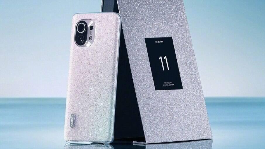 Xiaomi Mi 11 ganha versão com glitter