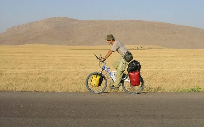 """""""O contato humano que você tem enquanto pedala dá um toque especial à viagem"""