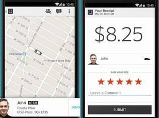Uber substitui táxi por
