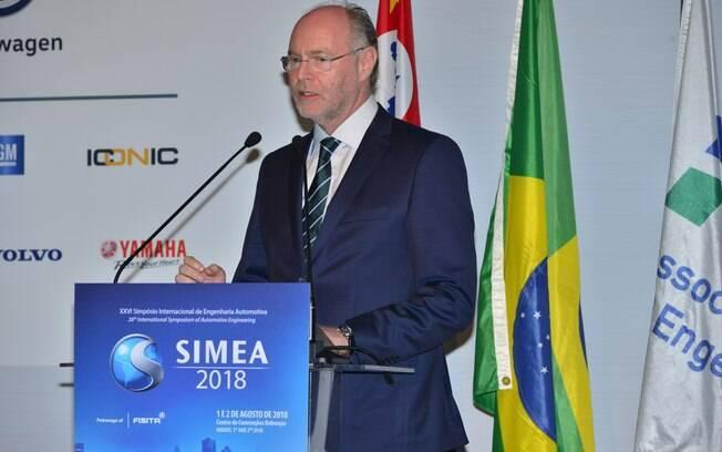 O SIMEA teve a participação do vice-presidente da Ford na América do Sul, Rogélio Golfarb entre os principais executivos