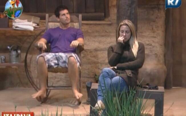 Thiago Gagliasso e Joana Machado conversam sobre roça