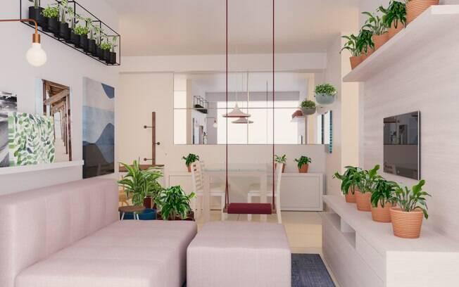 As plantas deixam os ambientes mais vivos e, além de deixarem a decoração mais legal, ainda trazem benefícios à saúde
