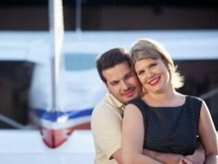 David e Veruska: viagens de avião pontuaram história do casal